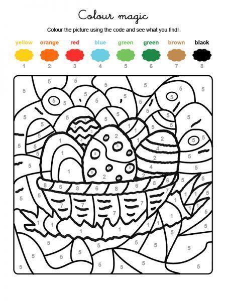 Coloriages Paques