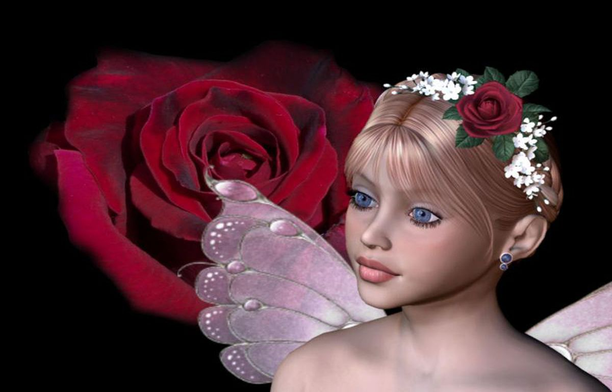Fond ecran for Fond ecran rose